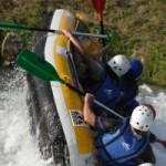 Week-end groupe sport en eaux vives à 1h de Lyon