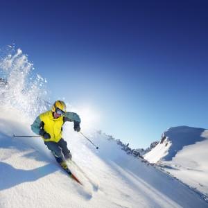 Skier aux Rousses