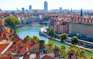 Rivière Saône Lyon